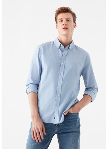Mavi Erkek  Oxford Gömlek 020033-32333 Mavi